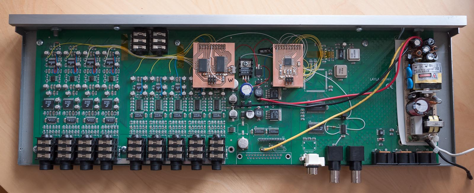 adat modification for the layla converters
